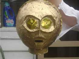 Behold, the head of C3PO!