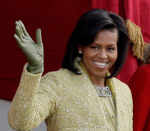 ... just as the new First Lady no doubt salutes the NDM.